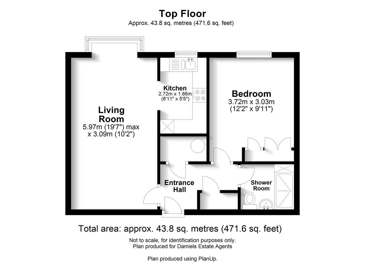 Floorplan for Marlborough Road, St Albans